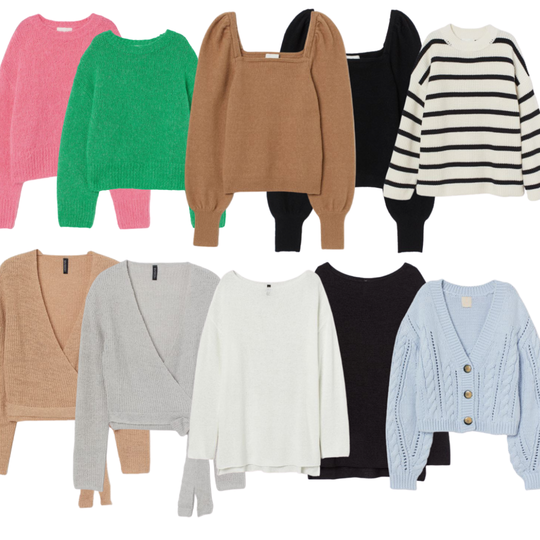cozy sweater round-up